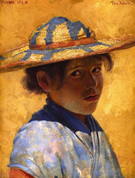 Una Muchacha (A Girl), 1883 - Tom Roberts