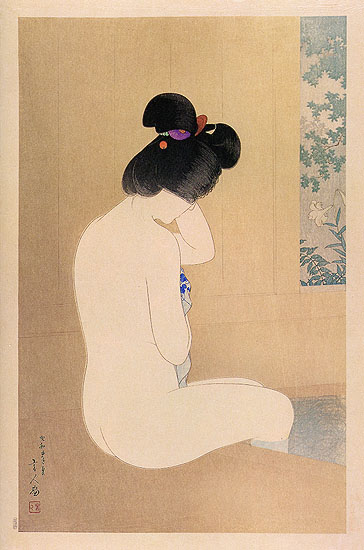Fragrance of the Hot Spring, 1930 - Torii Kotondo