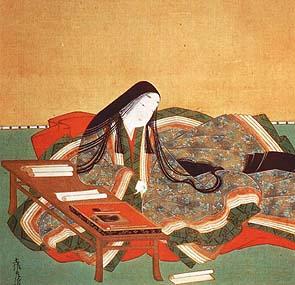 Murasaki Shikibu (detail) - Tosa Mitsuoki