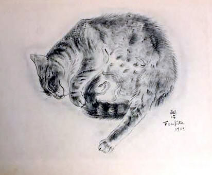 A Book of Cats - Tsuguharu Foujita