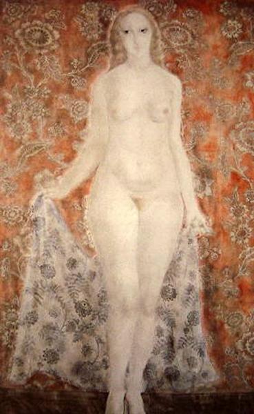 Nude, 1923 - Tsuguharu Foujita