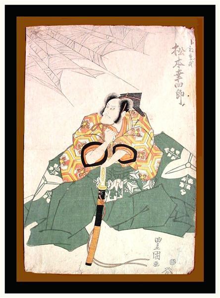 Matsumoto Kōshirō V, c.1820 - Utagawa Toyokuni
