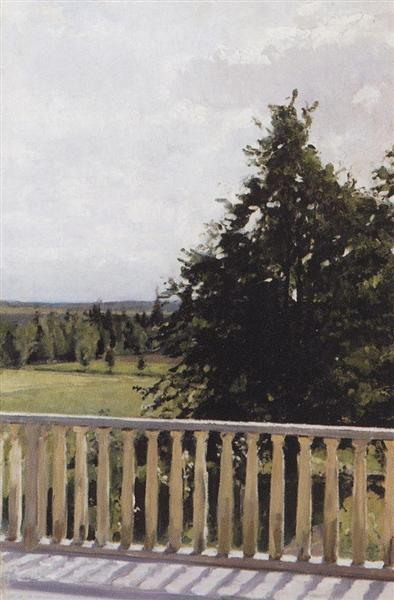 Balcony, 1911 - Valentin Serov