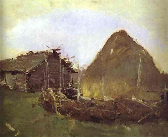 Haystack, 1901 - Valentin Serov