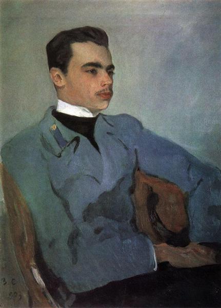 Portrait of Count Nikolay Sumarokov-Elstone, 1903 - Valentin Serov