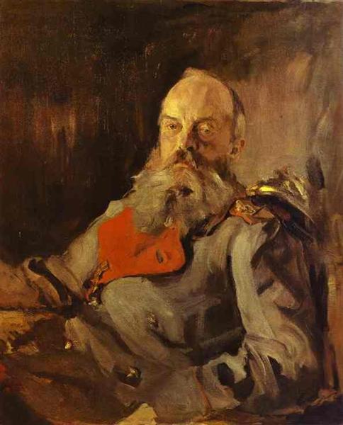 Portrait of Grand Duke Mikhail Nikolayevich, 1900 - Valentin Serov