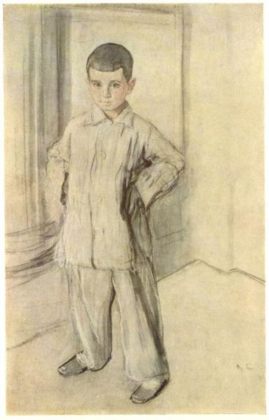 Portrait of L.K. Naryshkin, 1910 - Valentin Serov