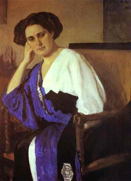 Portrait of Yelena Balina, 1911 - Valentin Serov