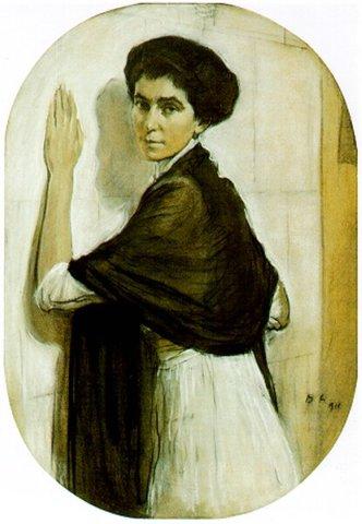 Sofia Vladimirovna, born Glebova - Valentin Serov