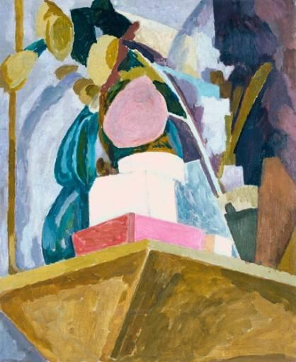 Still Life on Corner of a Mantelpiece, 1914 - Vanessa Bell
