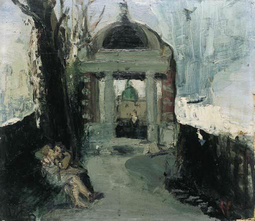 Liebespaar auf der Hohen Promenade, 1937 - Varlin