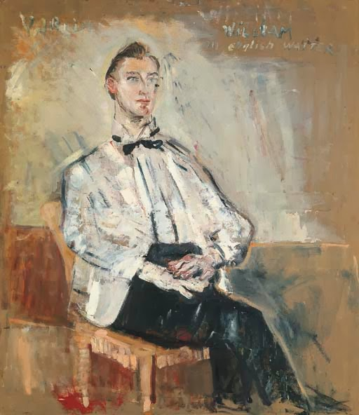 William, an English waiter, 1952 - Willy Guggenheim