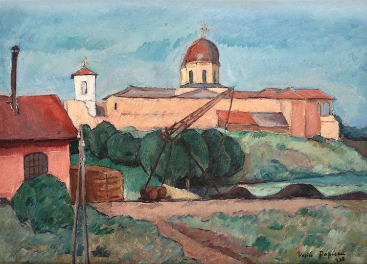Comana Landscape, 1928 - Vasile Popescu