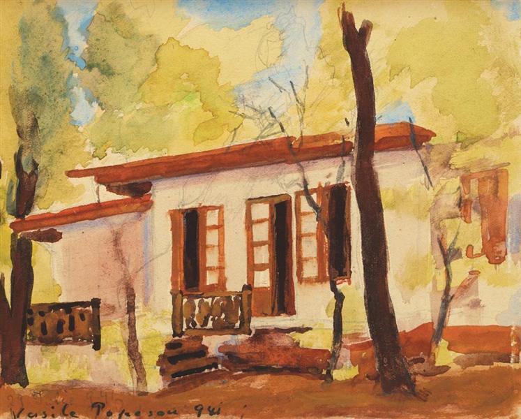 House in Fundeni, 1941 - Vasile Popescu