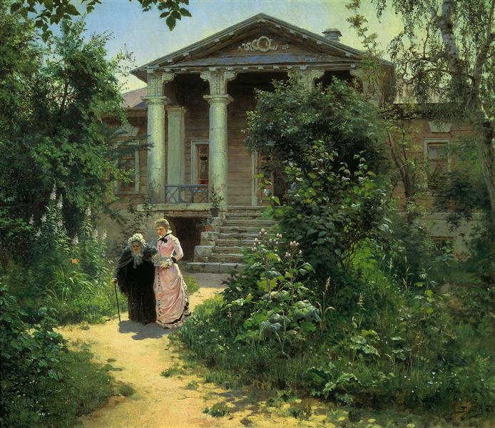 Granny's Orchard, 1878 - Vasily Polenov