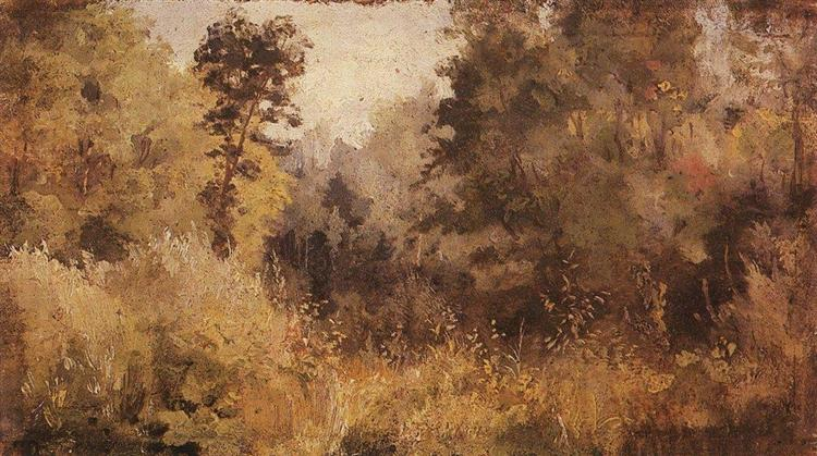 Park in Olshanka, 1877 - Vasily Polenov
