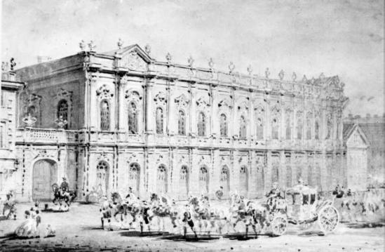 Konjushennyj museum, c.1860 - Vasily Sadovnikov