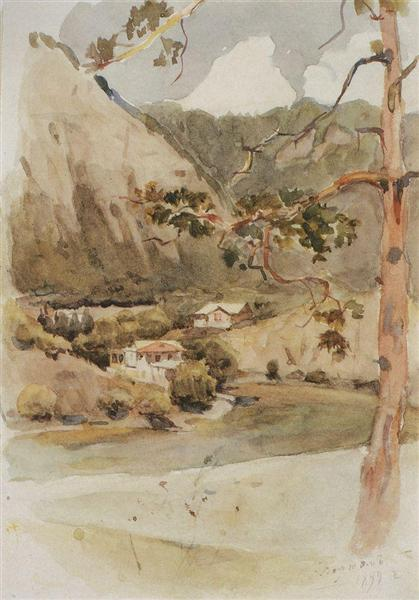 Borjomi, 1899 - Vasily Surikov