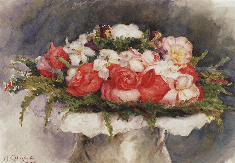Bouquet, 1884 - Vasily Surikov