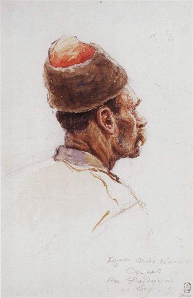 Cossack, 1893 - Vasily Surikov