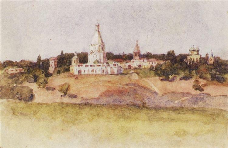 Kolomenskoye, c.1913 - Vasily Surikov