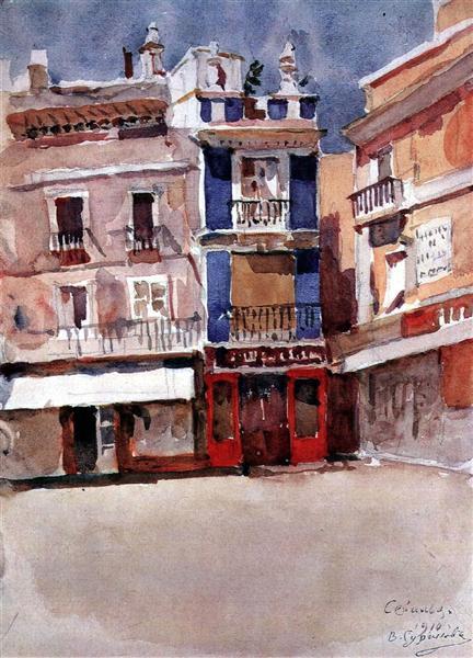 Seville, 1910 - Vasily Surikov