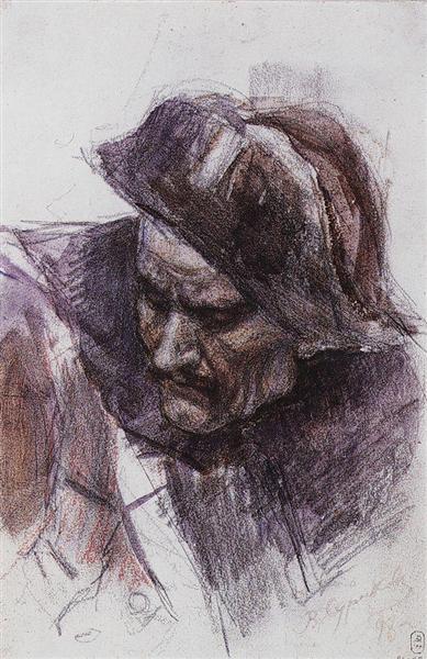 Soldier, 1898 - Vasily Surikov