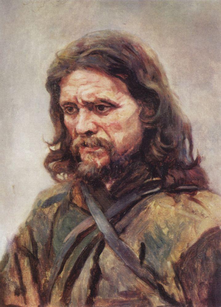 Vasily Surikov Wanderer-1885