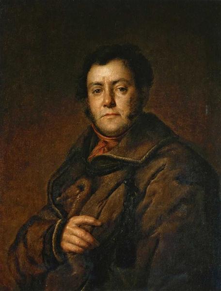 Portrait of V.M. Yakovlev, 1830 - Vasily Tropinin