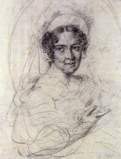Schepkina Yelena, 1826 - Wassili Andrejewitsch Tropinin