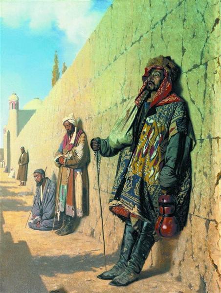 Beggars in Samarkand, 1870 - Vasily Vereshchagin