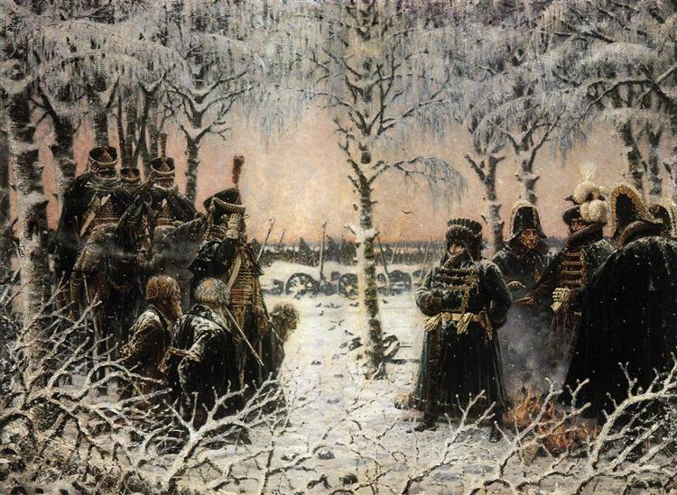 Captured with arms - Shoot them, 1887 - 1895 - Vasily Vereshchagin