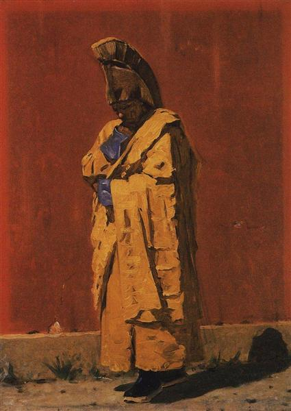 Kalmyk-lama, 1873 - Vasily Vereshchagin