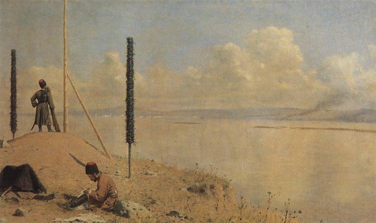 Picket on the Danube, 1878 - 1879 - Vasily Vereshchagin