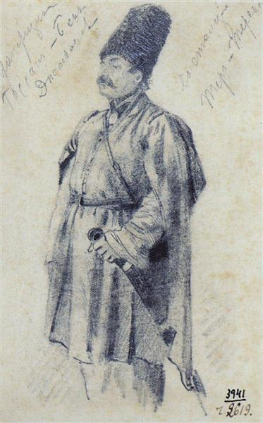 Warrant Officer Hassan-Beck Dzhagranov, 1863 - 1864 - Vasily Vereshchagin