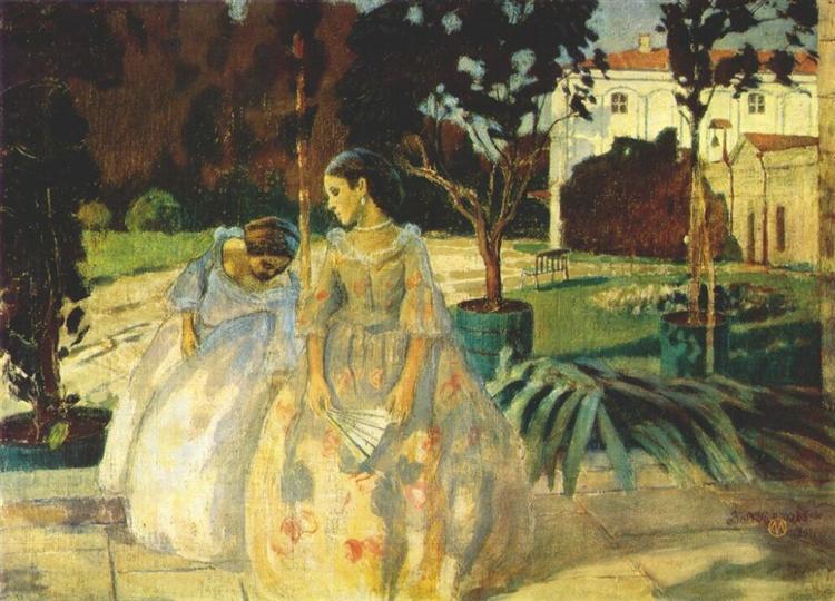 Tapestry, 1901 - Victor Borisov-Musatov