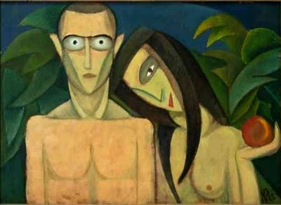 Adam & Eve, 1923 - Victor Brauner