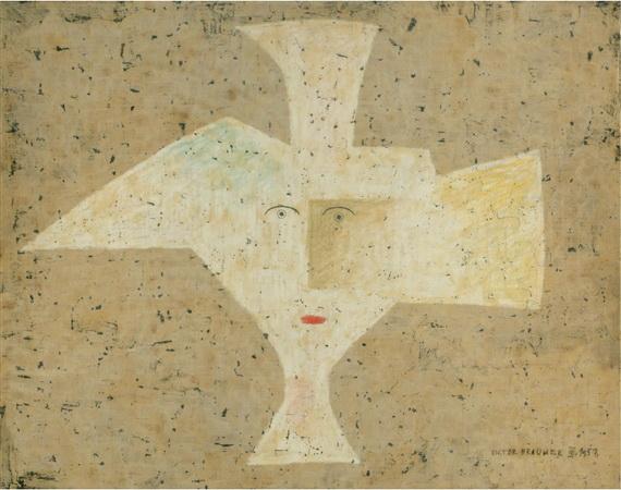 Objet subjectivit 1957 victor brauner - Victor brauner loup table ...
