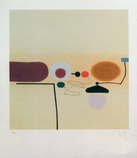 Composite Image: Orange and Pink - Victor Pasmore