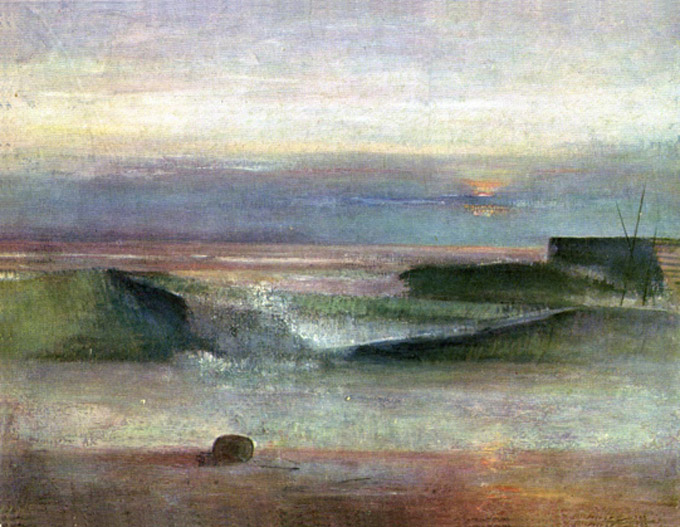 The Wave, 1944 - Victor Pasmore