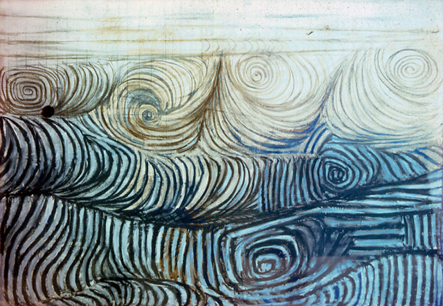 The Wave, 1950 - Victor Pasmore