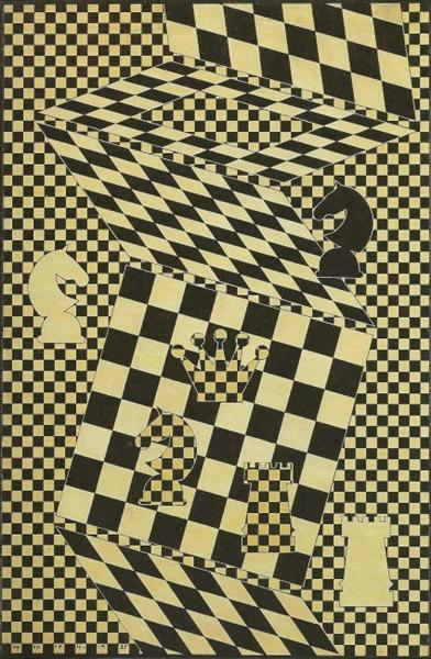The Chess Board, 1935 - Victor Vasarely