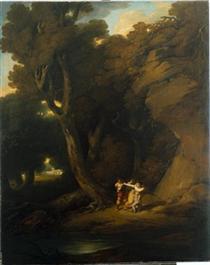 Fuga de Margarida de Anjou (Episódio da Guerra das Duas Rosas) - Vieira Portuense