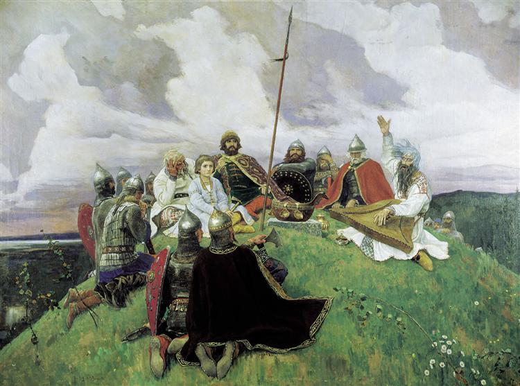 Boyan, 1910 - Viktor Vasnetsov