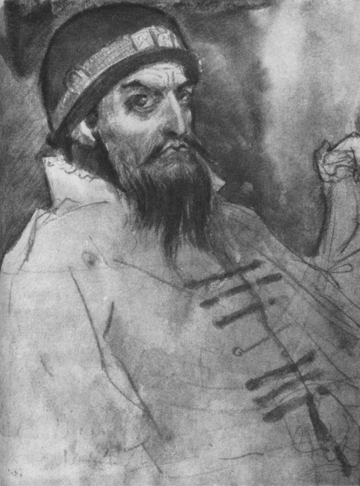 Ivan the terrible sketch