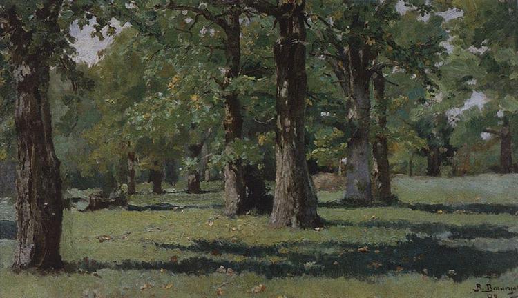 Oak Grove at Abramtsevo, 1883 - Viktor Vasnetsov