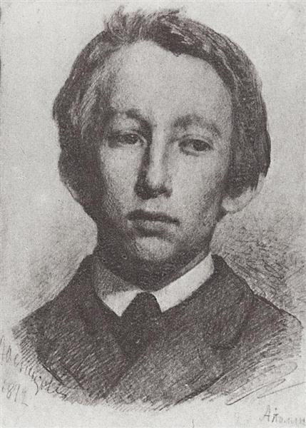 Portrait of Appolinary Vasnetsov, 1872 - Viktor Vasnetsov