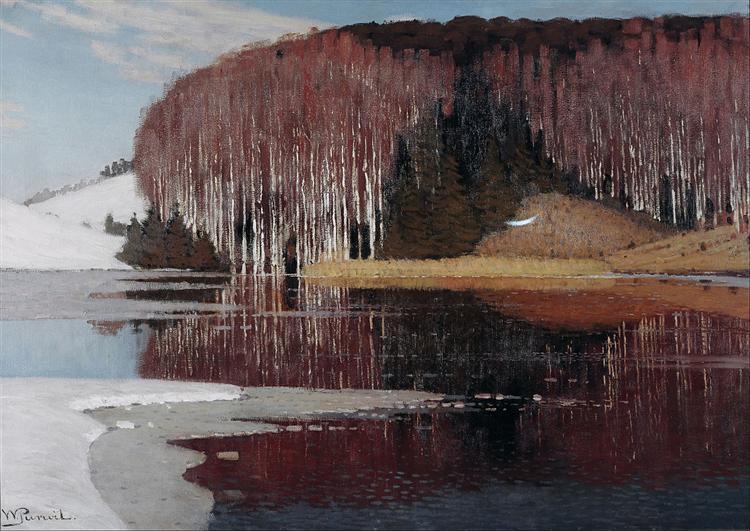Spring Waters, 1910 - Vilhelms Purvitis
