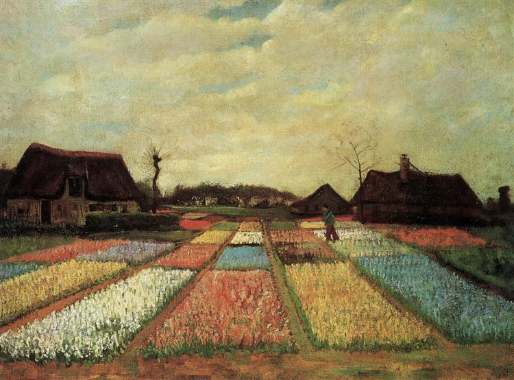 Bulb Fields, 1883 - Vincent van Gogh