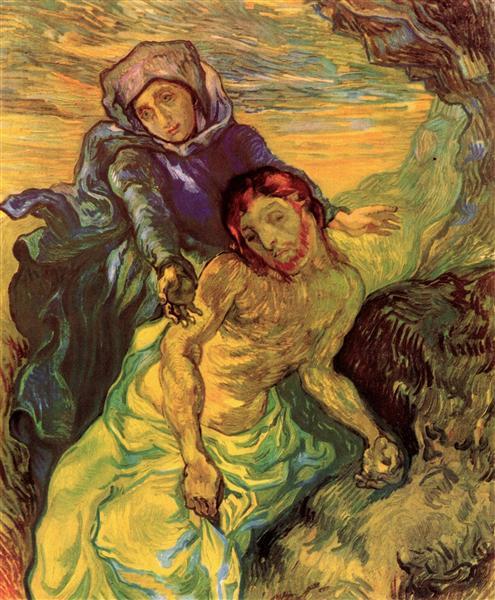 Pieta, 1889 - Vincent van Gogh